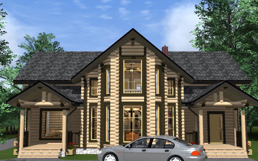 Выполнены рабочие проекты индивидуальных жилых домов в г. Старая Русса